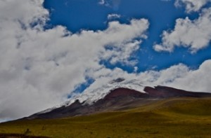 Cotopaxi up high