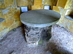 Stone Table in Druids Temple